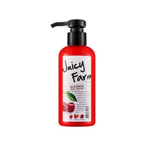 Sữa dưỡng Missha Juicy Farm Body lotion - wild cherry