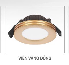 den led downlight am tran cob loai cao cap
