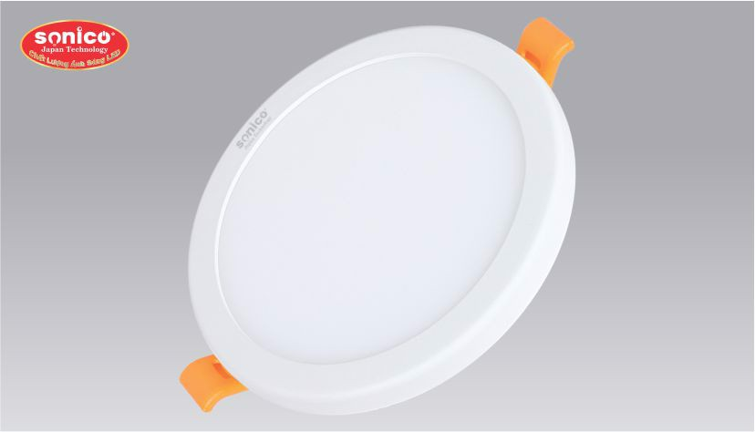 led am tran da nang 3 che do sonico 6w 20w