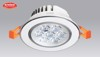 den led dowlight am tran cao cap 3w 12w