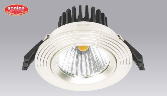 den downlight premum am tran cob cao cap