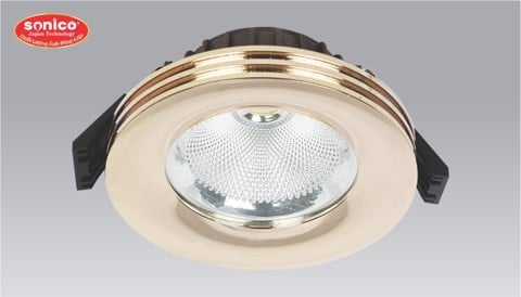 den downlight am tran led cob cao cap