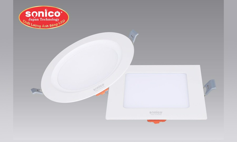 led am tran panel sonico 3 che do 4w 24w