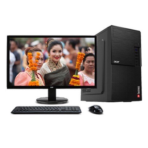 ACER Business D860 / Core™ i3-4130 3.4Ghz | RAM DDR3 4Gb | HDD 500Gb | DVD | Monitor 21.5
