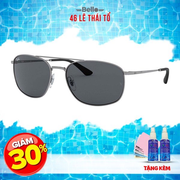 Ray-Ban RB3654 004/87 (60IT) - Mới