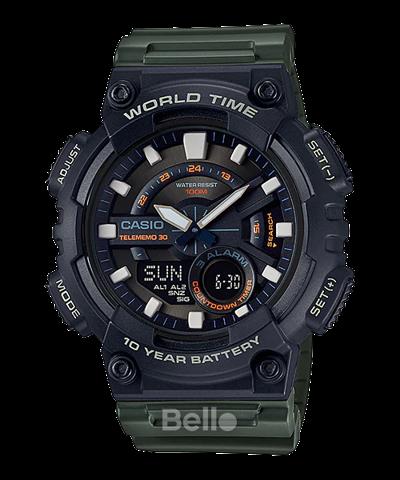 Đồng hồ Casio Nam AEQ-110W-3AVDF
