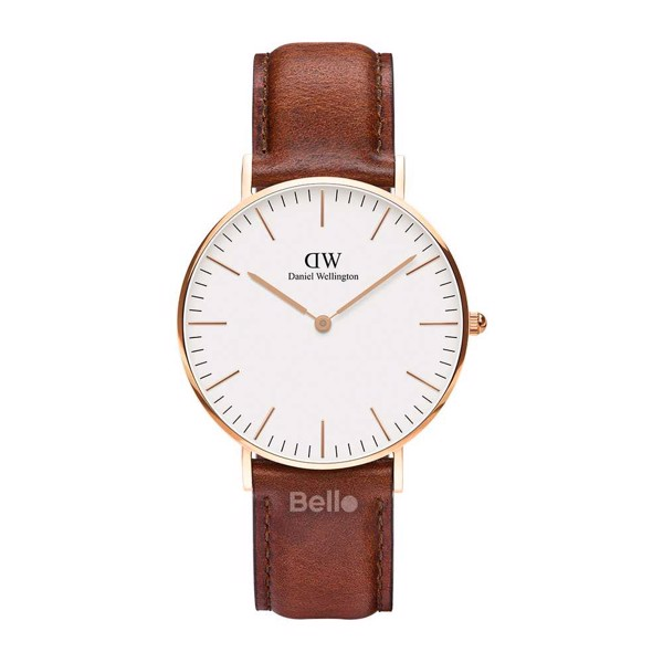 Classic St Mawes Rose Gold 36mm