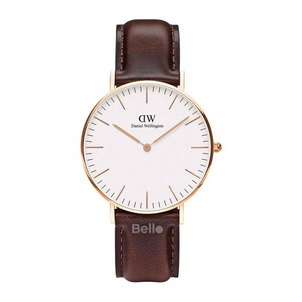 Daniel Wellington Bristol Rose Gold Couple 36-28