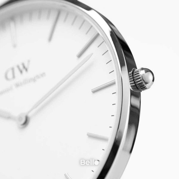 Classic Canterbury Silver 36mm