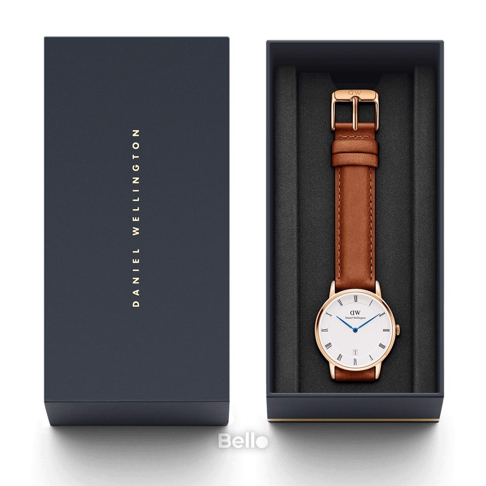 Dapper Durham Rose Gold 34mm