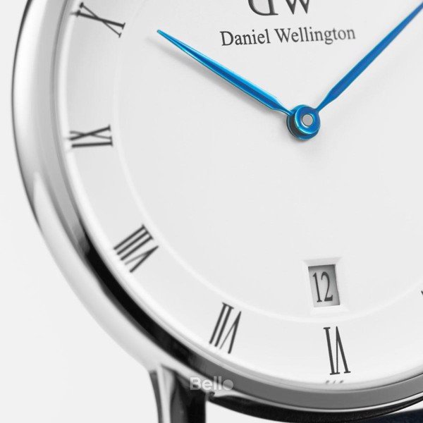 Dapper Durham Silver 34mm