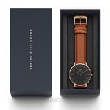 Classic Black Durham Rose Gold 40mm