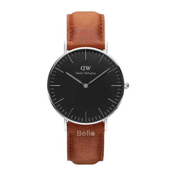 Daniel Wellington Black Durham Silver Couple 36-28