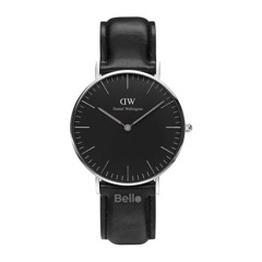 Classic Black Sheffield Silver 36mm