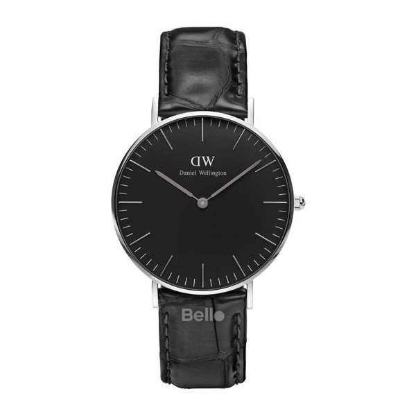 Daniel Wellington Black Reading Silver Couple 36-28