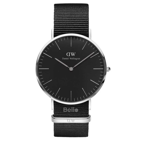 Classic Black Cornwall Silver 40mm