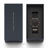 Classic Black Cornwall Rose Gold 40mm
