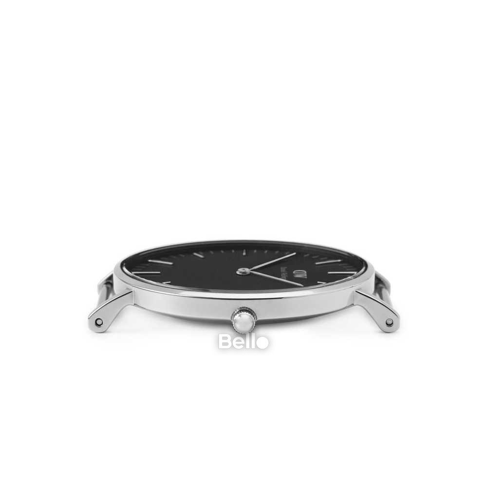 Daniel Wellington Black Cornwall Silver Couple 36-28