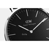 Daniel Wellington Black Cornwall Silver Couple 40-32
