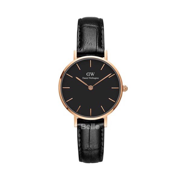 Classic Petite Reading Black Rose Gold 28mm