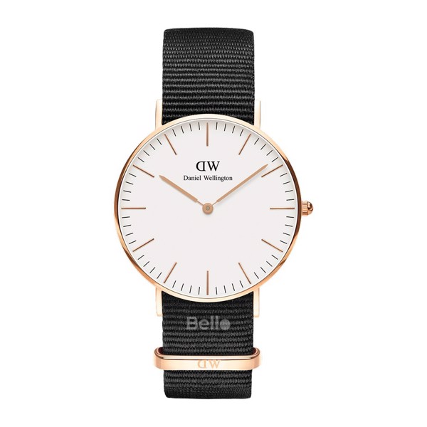 Daniel Wellington Cornwall Rose Gold Couple 36-28