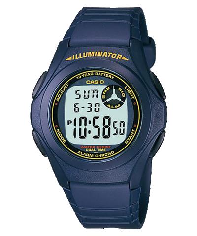 Đồng hồ Casio Nam F-200W-2BDF