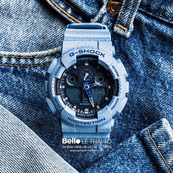 Casio G-Shock GA-100DE-2A