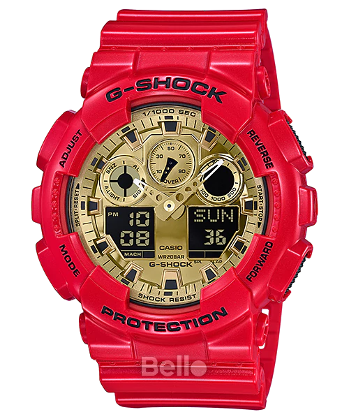Casio G-Shock GA-100VLA-4A