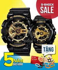 G-Shock đôi GA-110GB-1A & Baby-G BA-110-1A