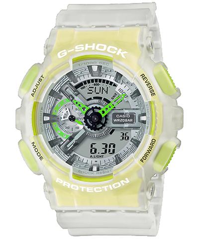 BST G-Shock Skeleton sắc màu huỳnh quang nổi bật