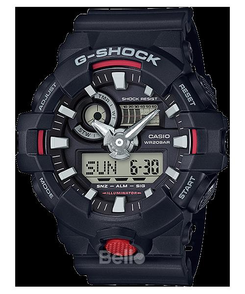 GA-700-1A - Đồng hồ Casio G-Shock chính hãng Đen đỏ