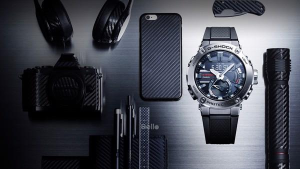 Casio G-Shock GST-B200-1A - Đồng hồ G-Shock G-Steel chính hãng - Cấu trúc bảo vệ lõi carbon cực bền bỉ