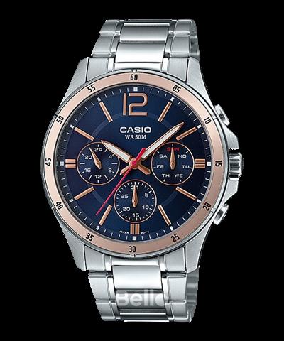 Đồng hồ Casio Nam MTP-1374D-2A2