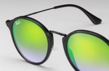 Ray-Ban Round Fleck Flash Lenses Gradient RB2447 901/4J