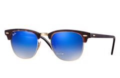Ray-Ban Clubmaster Flash Lenses Gradient RB3016 990/7Q