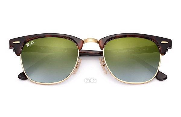 Ray-Ban Clubmaster Flash Lenses Gradient RB3016 990/9J