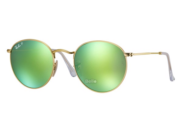 Ray-Ban Round Flash Lenses RB3447 112/P9