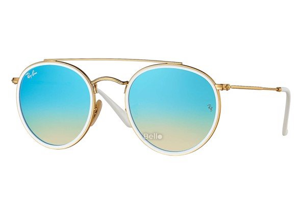 Ray-Ban Round Double Bridge RB3647N 001/4O
