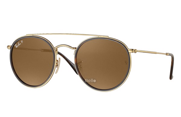 Ray-Ban Round Double Bridge RB3647N 001/57
