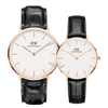Daniel Wellington Reading Rose Gold Couple 40-32