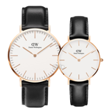 Daniel Wellington Sheffield Rose Gold Couple 40-32