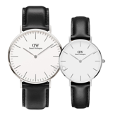 Daniel Wellington Sheffield Silver Couple 40-32