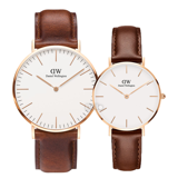 Daniel Wellington St Mawes Rose Gold Couple 40-32
