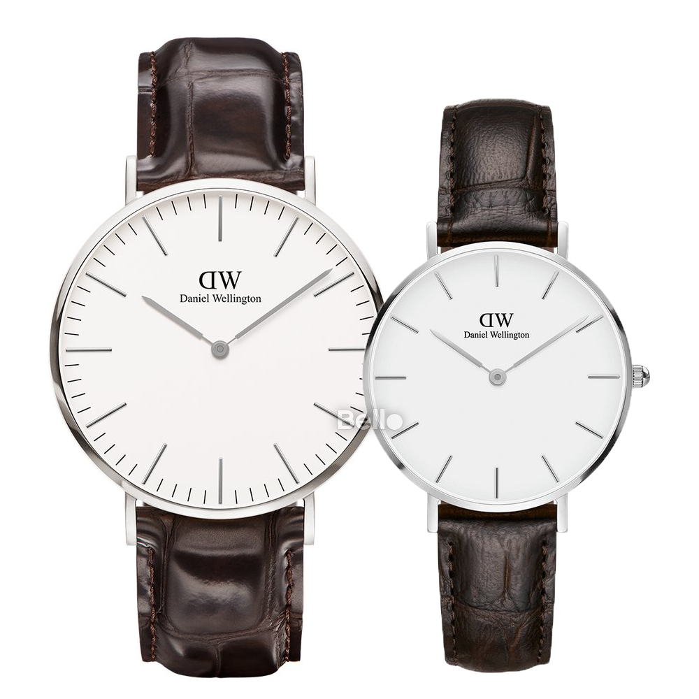 Daniel Wellington York Silver Couple 40-32