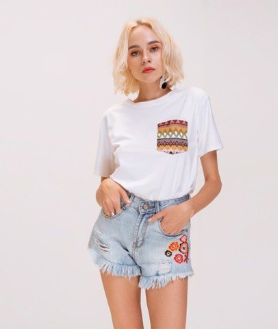 Shorts Denim Ngắn