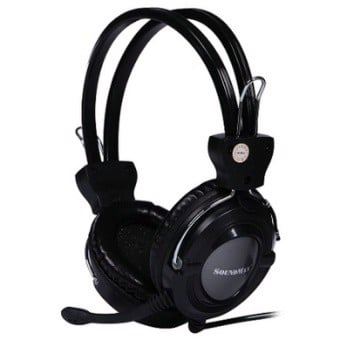 HEADPHONE SOUNDMAX COMPORT HEADSET AH-307