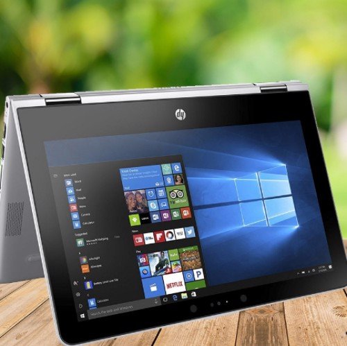 LAPTOP HP X360 11-AD032TU (Silver)