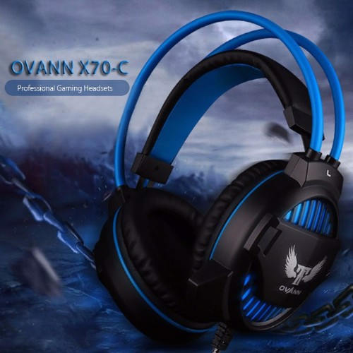Headphone Ovann X70-C (Đen)