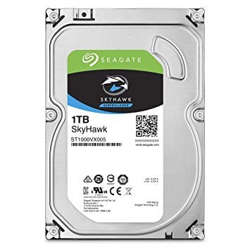 HDD Seagate 1TB Skyhawk Sata (Video)