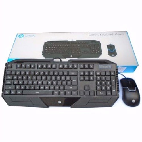 GAMING KEYBOARD + MOUSE HP GK1000